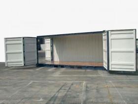container marittimo 20 piedi ISO Open Side Nuovo| Container.it