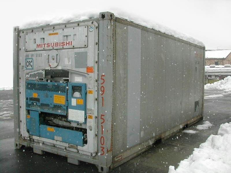 Schiffscontainer 20' ISO REEFER neu | Container.biz