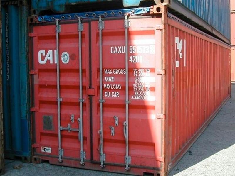 container marittimo 40' ISO OT usato | Box & Box