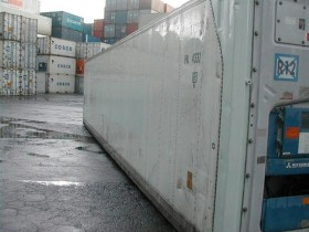 Schiffscontainer 40' ISO HC REEFER neu | Container.biz