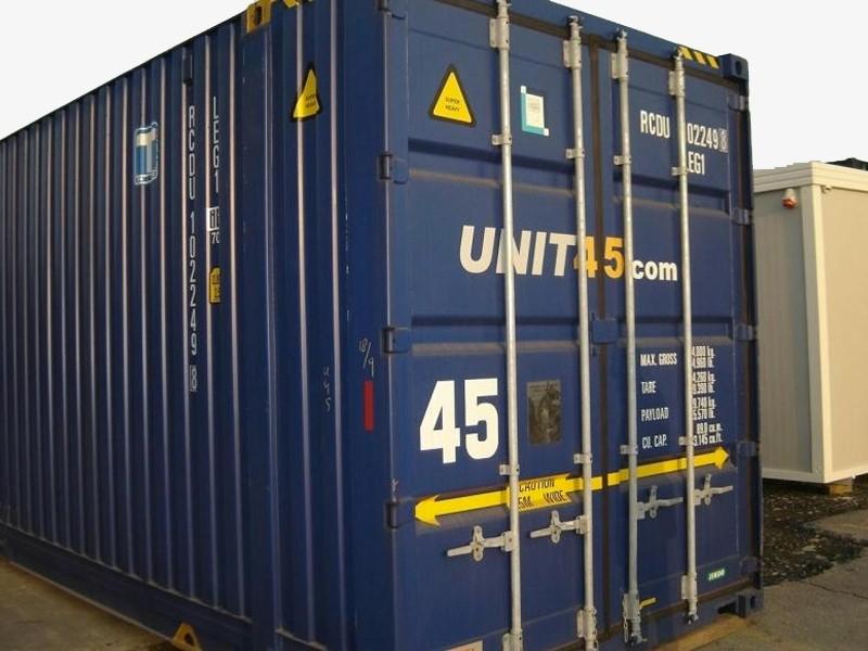 Schiffscontainer 45' ISO HC 9'6' gebraucht | Container.biz