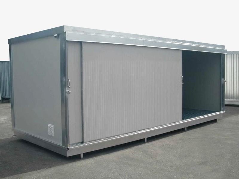 Box prefabbricato con vasca di raccolta - coibentato - 240 x 230 - h 240 | Box & Box
