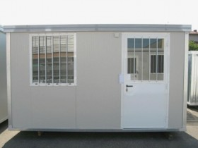 Box Prefabbricati Open Space Modello New Millennium 40mm - 6,14 m. | Box & Box