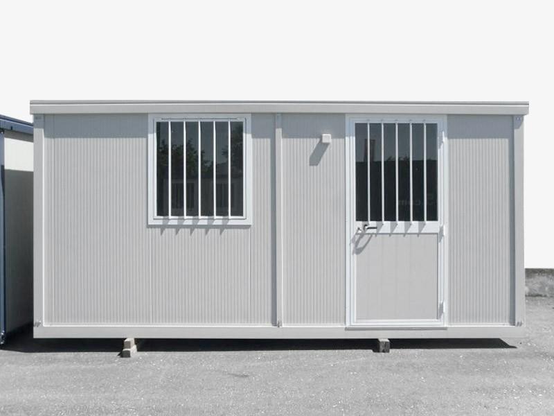 Box Prefabbricati Cantiere Ufficio Open Space 5 metri | Container.it