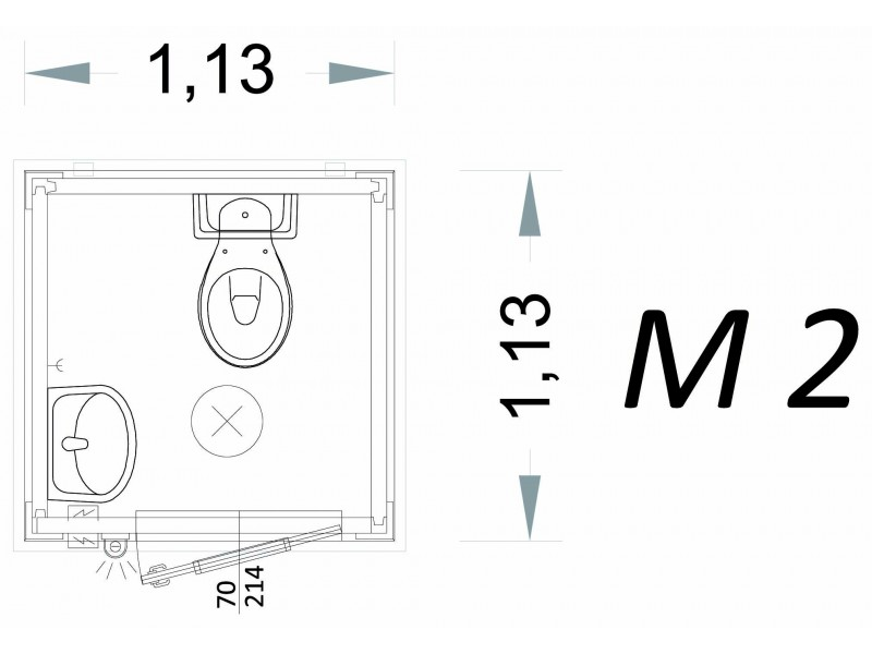 copy of Box Triage Semplice 4.057x2.417x2.650 H