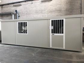 Box Prefabbricati modello L1 - Wc, lavabo e doccia, Servizio centrale - 7,14 m. | Box & Box
