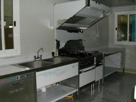 Cucina da cantiere