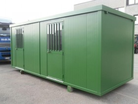 Container BAUSTELLE