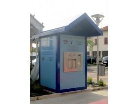 Wasserhaus für Trinkwasserstation