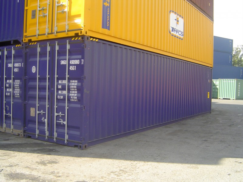 container marittimo 40' ISO HC usato   Box & Box