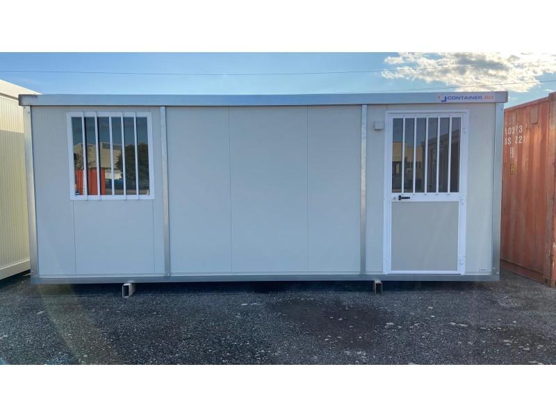 Box Prefabbricati Open Space 6 metri Profilo Zincato | Container.it