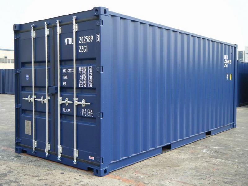 Vendita Container Marittimo 20 Piedi Nuovo RAL 5013 | Container.it
