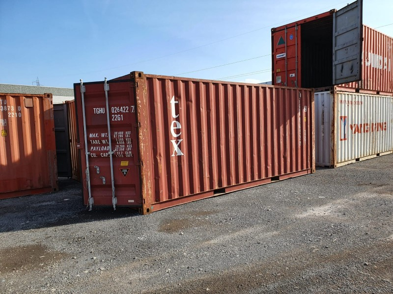 Container Usati tipo marittimo 20' ISO BOX DRY   Container.it
