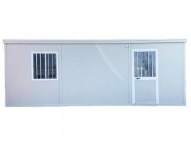 Box prefabbricato con vasca di raccolta - coibentato - 800 x 240 - h 240 | Box & Box