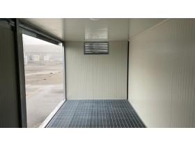 Box In lamiera Vasca di Raccolta 600 x 230 - h 240 | Container.it