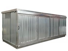 box in lamiera zincata prefabbricato