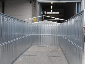 LEICHTBAU-CONTAINER (BLECH) - 3.50 m | Container.biz
