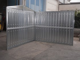 LEICHTBAU-CONTAINER (BLECH) - 4.30 m   Container.biz