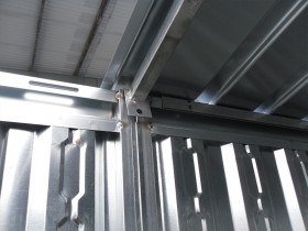 LEICHTBAU-CONTAINER (BLECH) - 7.70 m | Container.biz