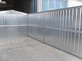 LEICHTBAU-CONTAINER (BLECH) - 8.60 m | Container.biz