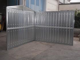 LEICHTBAU-CONTAINER (BLECH) - 9.40 m | Container.biz