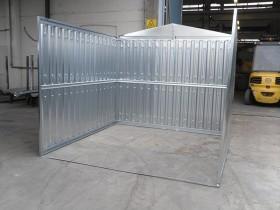 LEICHTBAU-CONTAINER (BLECH) - 12.75 m | Container.biz